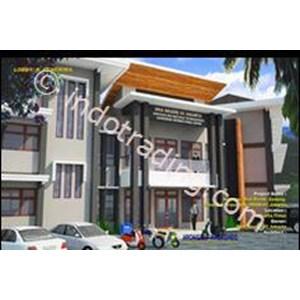 Desain Kantor Klasik Modern By Archigraf Kreasindo