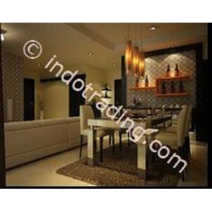 Desain Interior Ruang Makan Klasik Modern  By Archigraf Kreasindo