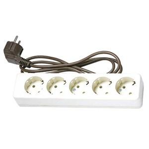 Stop Kontak 5 Lobang Plus Kabel Uticon St-158C
