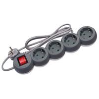 Stop Kontak Sakar 4 Lobang Plus Kabel Uticon St-1488 1