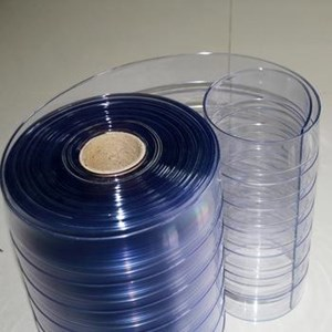 Tirai PVC Strip Bening