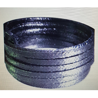 Non Asbestos Gland Packing Inconel Wire Reinforced Asbestos Braided Packing