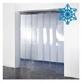 Tirai PVC Curtain Putih Susu