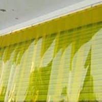 Tirai Gorden PVC Kuning
