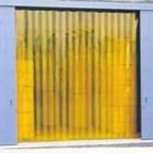 Tirai PVC Curtain kuning Penyekat Ruangan