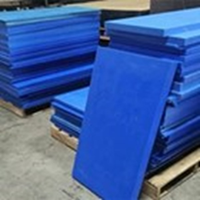 Plastik HDPE MC Blue Sheet
