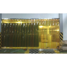 Tirai PVC Curtain Strip Kuning Surabaya