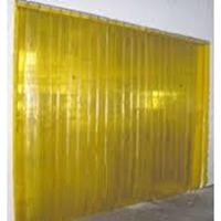 PVC Curtain Kuning
