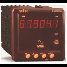 DIGITAL PANEL ENERGY METER KWH EM306-A SELEC