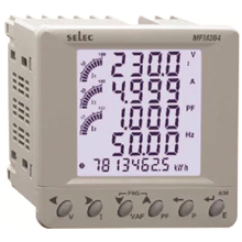 DIGITAL PANEL MULTIFUNCTION METER MFM384-C SELEC