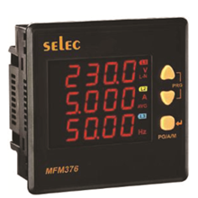 DIGITAL PANEL MULTIFUNCTION METER MFM376 SELEC