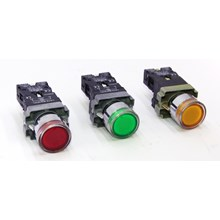 Iluminated Push Button With NEON LAY-5 Series FORT (R/G/Y)