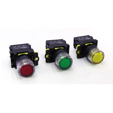 Iluminated Push Button With LED LA115 Series FORT (Red/Green/Yellow)
