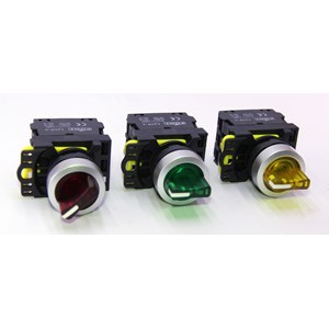 From Iluminated Selector Switch LED 220VAC Type LA115-A5-20XSD FORT (Red/Green/Yellow) 0