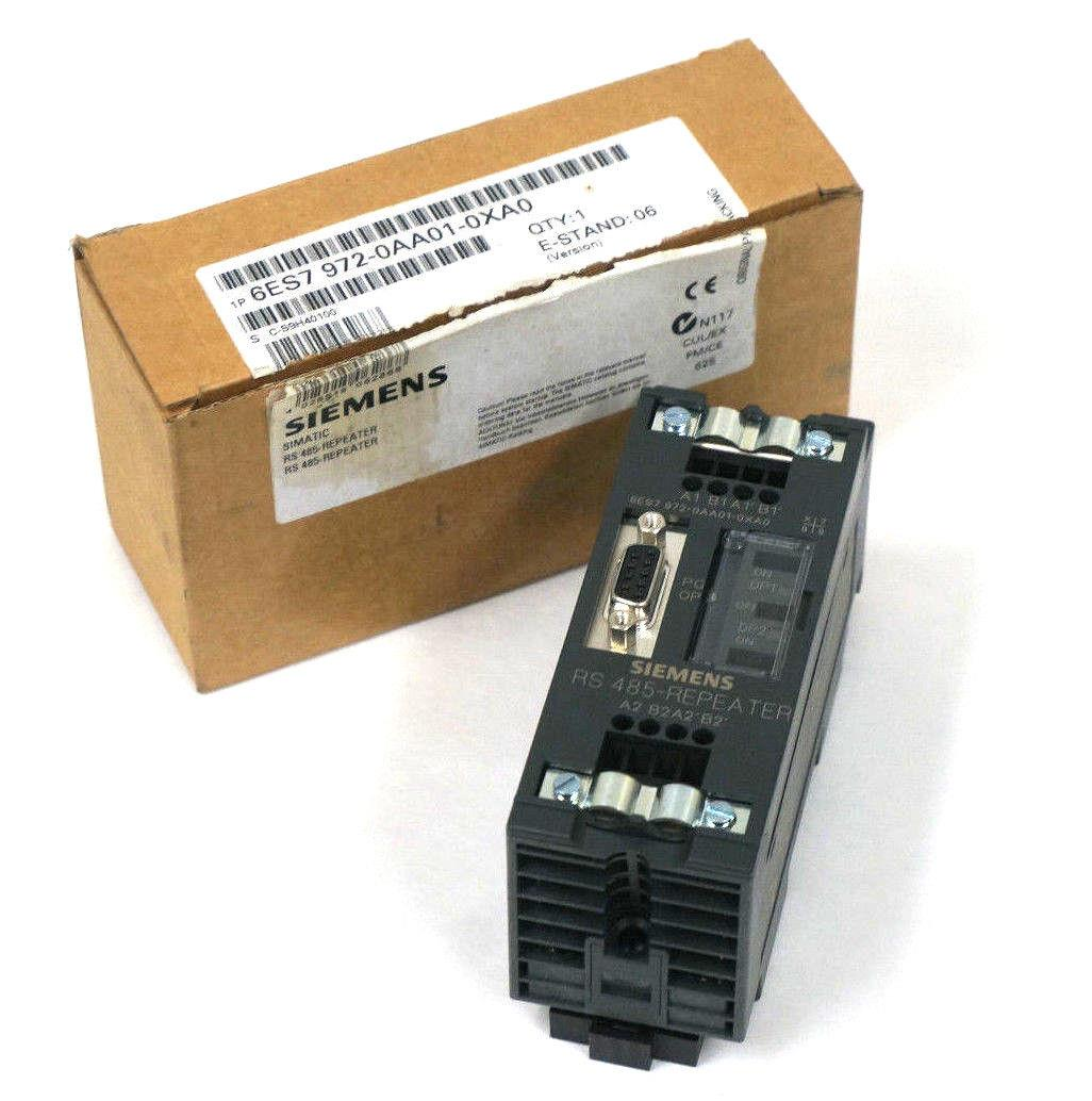 jual siemens 6es7 972 0aa01 0xa0 rs485 repeater module. Black Bedroom Furniture Sets. Home Design Ideas