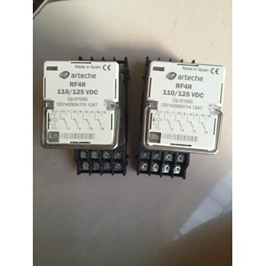 Relay Arteche RF4R 110-125 VDC Relay dan Kontaktor Listrik