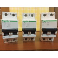 Jual MCB SCHNEIDER C60H DC MCB Circuit Breaker