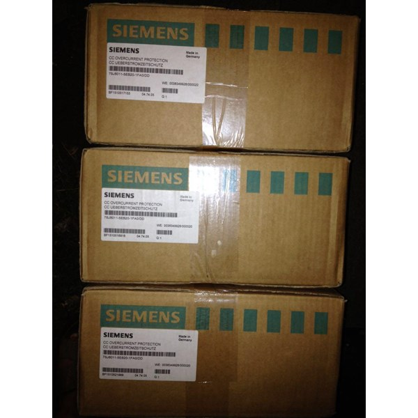 Siemens 7SJ8011 5EB20 1FA0 DD Overcurent protection
