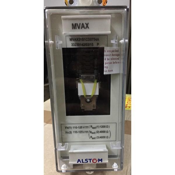 ALSTOM MVAX 31Trip Circuit Supervision Relay dan Kontaktor Listrik