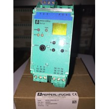 PEPPERL FUCHS KFU8-GUT-EX1.D TEMPERATURE CONVERTER WITH TRIP Relay dan Kontaktor Listrik