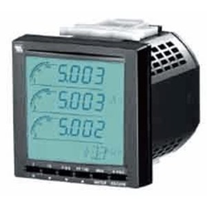 M SYSTEM 53U-1211-AD4 Multiline Power Monitor panel meter