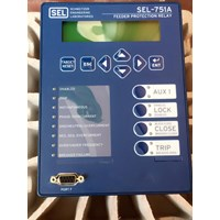SEL 751A Feeder Protection Relay Relay dan Kontakt