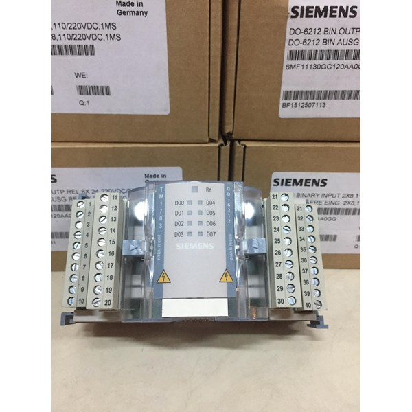 SIEMENS DO-6212 BIN OUTPUT RELAY 6MF11130GC120AA0GG Modul PCB dan Papan Sirkuit