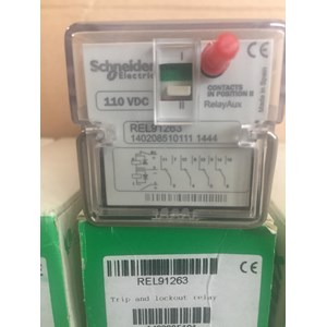 SCHNEIDER REL91263 Trip And Lockout Relay