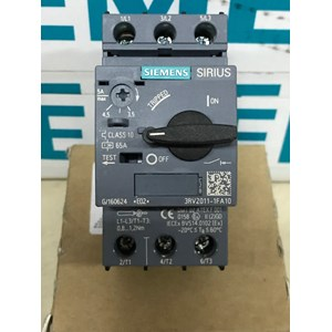 SIEMENS 3RV2011-1FA10 CIRCUIT BREAKER FOR MOTOR PROTECTION