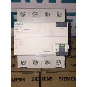 SIEMENS 5SV4346-0 63A 30MA RCCB