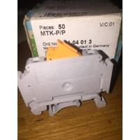 Distributor PHOENIX CONTACT MTK-P/P Knife Disconnect Terminal Block 3