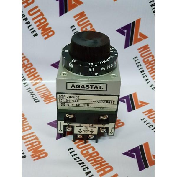 AGASTAT 702201 TIMING RELAY 6-60 MIN 24DC