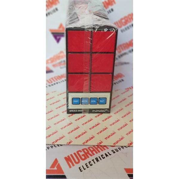MINILEC MBAS 0600 ALARM ANNUNCIATOR 90-270 VAC/DC