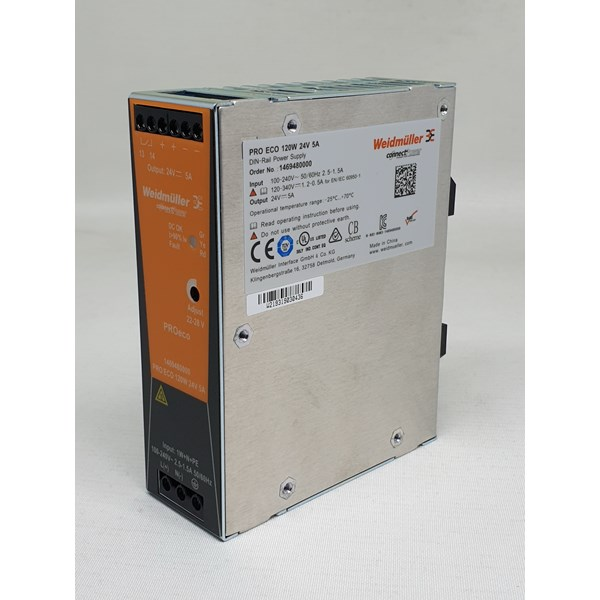 PRO ECO 120W 24V 5A 1469480000 Weidmuller
