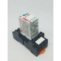 RELPOL R4N-2014-23-1110-WTL 110VDC  Plug In Power