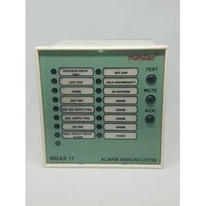 Minilec MBAS 11 90-270 VAC/DC Alarm Annunciator