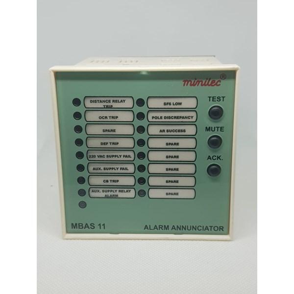 Alarm Annunciator Minilec MBAS 11