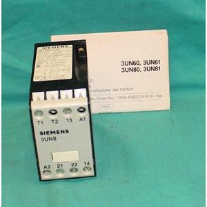 SIEMENS 3UN8004 Relay dan Kontaktor Listrik