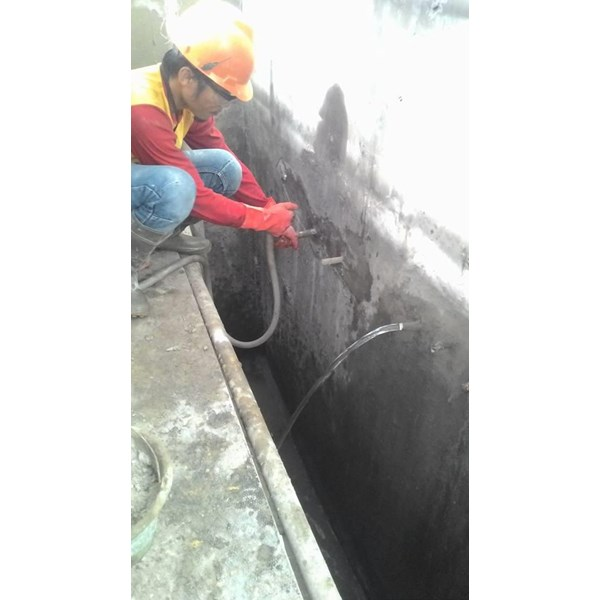 Injection grouting work services by cv alpha jaya tehnik
