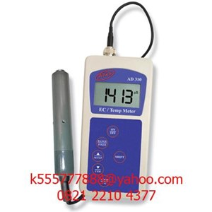 Portable EC/Temp Meter AD310