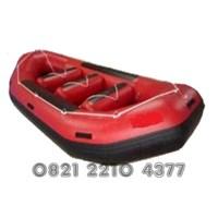 Perahu Karet Evakuasi Banjir