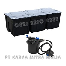 Alat Peraga Pond Bio Filter + Pompa Air