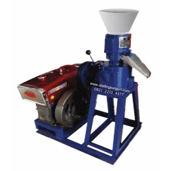 Mesin Pencetak Pellet Untuk Pakan - Kering Kapasitas 150 kg/jam