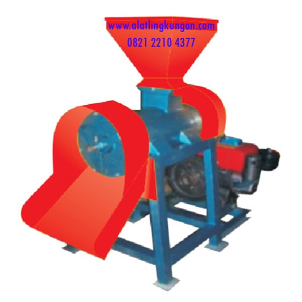 Mesin Pencetak Pellet Basah