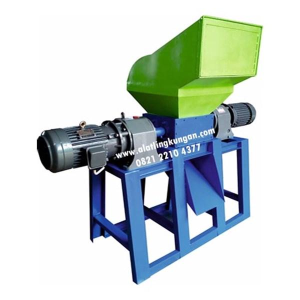 Mesin Pencacah Plastik Tebal Kapasitas 220 - 250 Kg/Jam