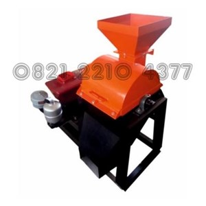 Coconut Shell Charcoal Penepung Machine Capacity of 250 kg / hour