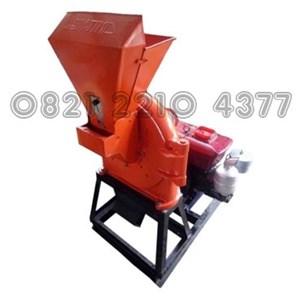 Coconut Shell Charcoal Penepung Machine Capacity 400-500 kg / hour