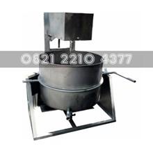 Mesin Pemasak Lem Untuk Bricket Kapasitas 200 Kg/Batch