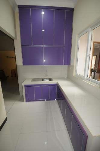 Jual aluminium composite panel kitchen set 2 harga murah for Jual kitchen set surabaya