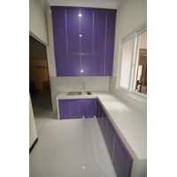 Aluminium Composite Panel Kitchen Set 2 1